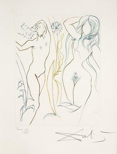 Salvador Dalí, 'Adam and Eve (Le Paradis Perdu, Plate I)', 1974