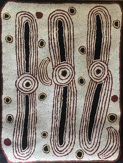 Ningura Napurrula, 'Untitled - Rockholes at Wirrulunga', 2010