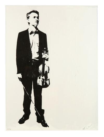 Blek le Rat, 'The Violinist', 2014