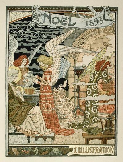 Eugène Samuel Grasset, 'Cuisine des anges / Angels' Kitchen', 1893