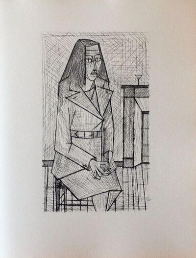 Bernard Buffet, 'Les Chants de Maldoror II', 1952