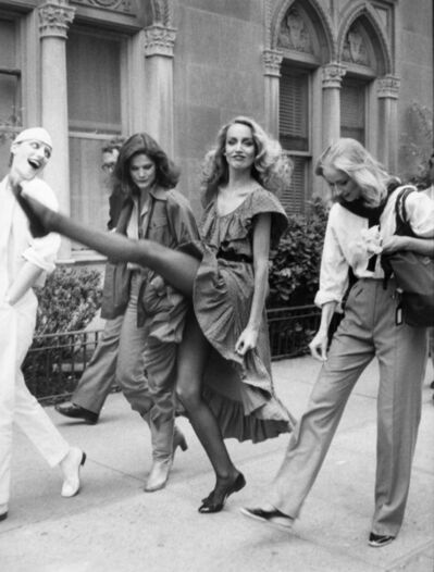 Bill Cunningham, 'Jerry Hall, New York City', ca. 1980s