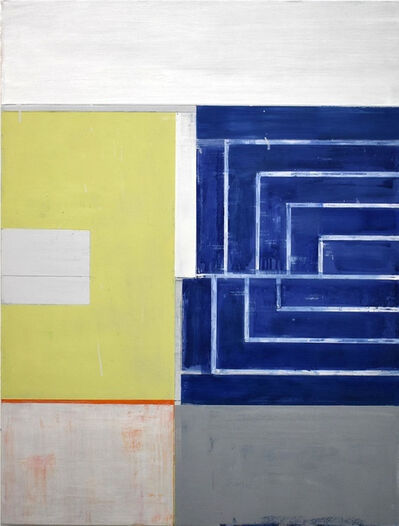Lloyd Martin, 'Small Blue Bender', 2017