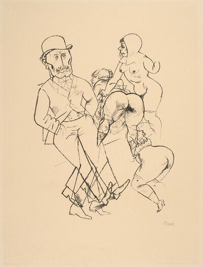George Grosz, 'Parasiten', 1919
