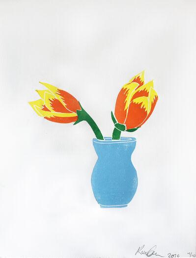 Rose Eken, 'Tulips', 2016
