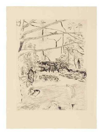 Pierre Bonnard, 'Le Parc Monceau', 1937