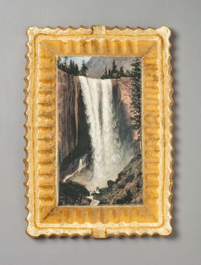Evan Hauser, 'Preservation & Use (Vernal Falls, 1863, Albert Bierstadt)', 2017