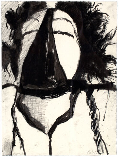 """André de Jong, '""""Portret""""/From The 18 Self-portrait Mixed Media Series', 2008"""