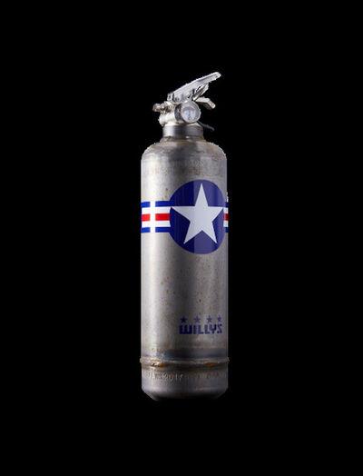 Jaler Fine Art, 'Extinguisher WILLYS Star Vintage', 2021