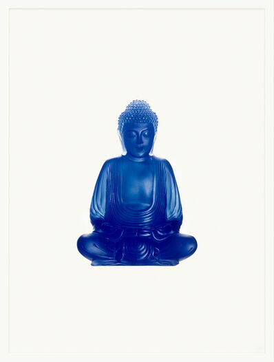 Sarah Charlesworth, 'Blue Buddha', 2005