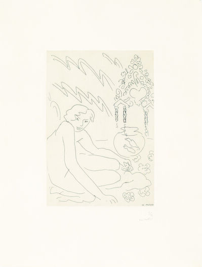 Henri Matisse, 'Nu au miroir marocain', 1929