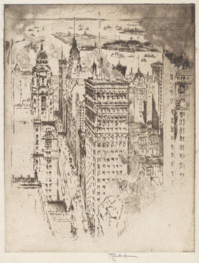 Joseph Pennell, 'Golden Cornice, No.II', 1915