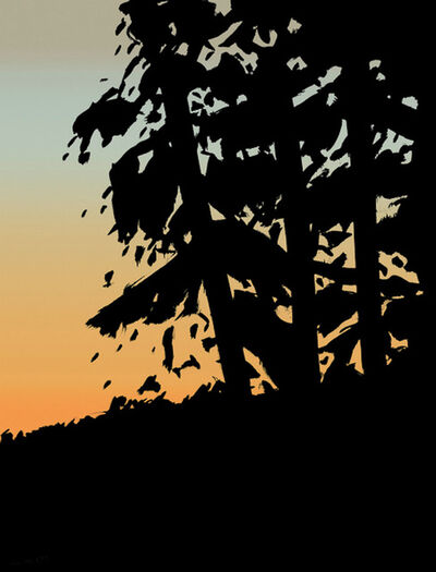 Alex Katz, 'Sunset 1, from Sunrise Sunset Portfolio', 2020