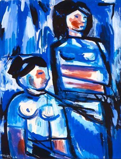 Francisco Narvaez, 'Mujeres en la playa ', 1962