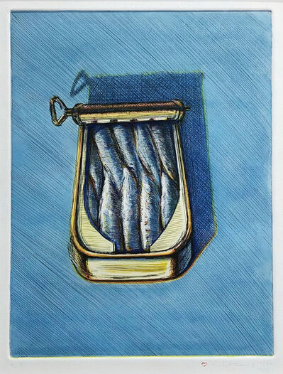 Wayne Thiebaud, 'Fish', 1982/1989