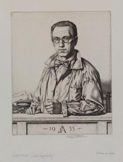 Stanley Anderson, 'Self portrait [Forster 209]', 1933