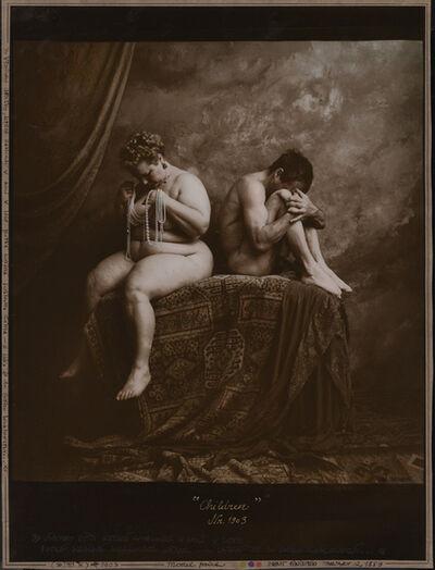 Jan Saudek, 'Children Nr. 1903', 1988/1989