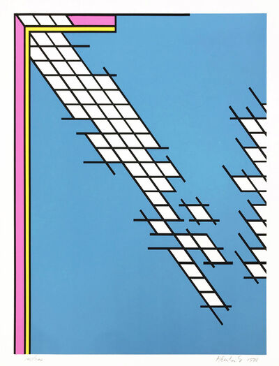 Nicholas Krushenick, 'TAIL GATE', 1978