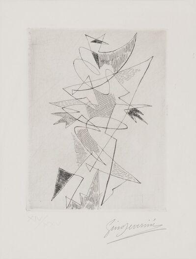 Gino Severini, 'Composition', 1962