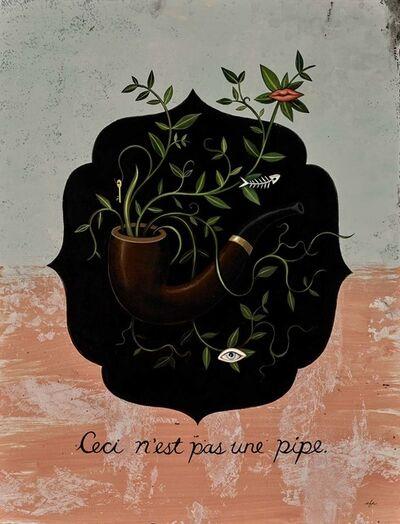 Anne Faith Nicholls, 'Homage to Magritte, Ceci n'est pas une pipe (Strange Botanica Series)', 2017