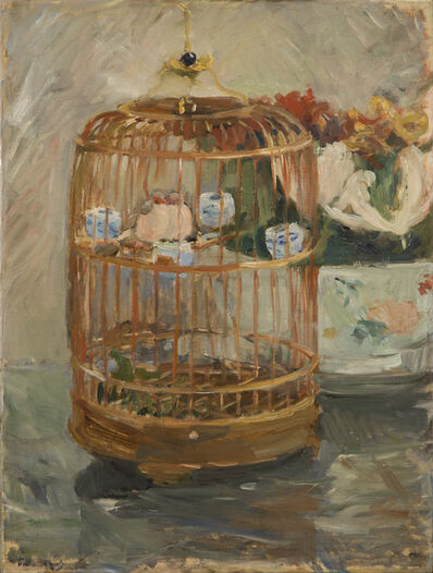 Berthe Morisot, 'The Cage', 1885