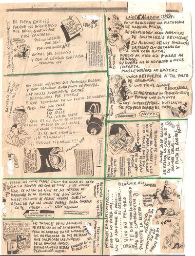 "Batato Barea, 'Untitled, (Flyer/ collage for ""Freedom Disco"" and ""Crash Disco"")', 1988"