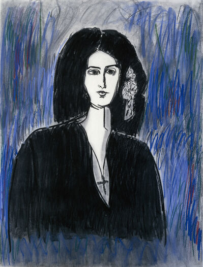Fay Lansner, 'Portrait of George Sand', 1988