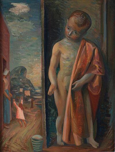 Mario Tozzi, 'Uscita dal bagno', 1942