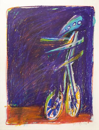 Alfred Kornberger, 'Zeus am Fahrrad', 1984
