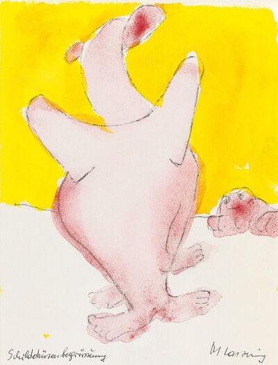 Maria Lassnig, 'Schilddrüsenbegrüssung', 2000