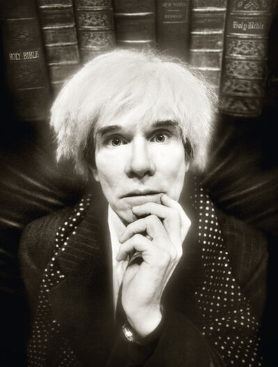 David LaChapelle, 'Andy Warhol: Last Sitting, November 22', 1986