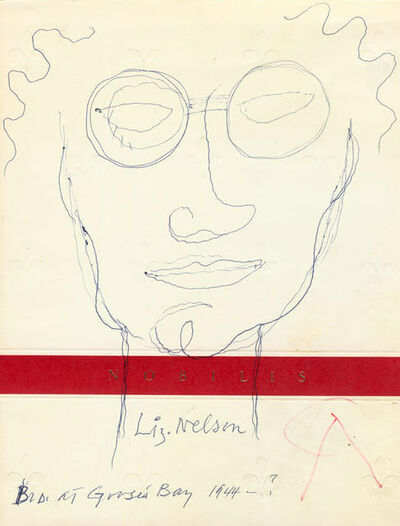 Alexander Calder, 'Untitled 'Liz Nelson'', 1944