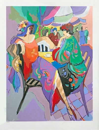 Isaac Maimon, 'THE CORNER CAFE', 1992