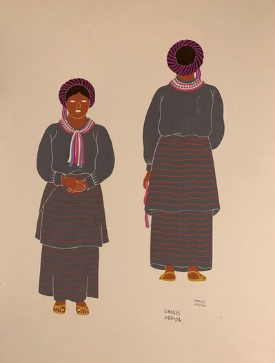 Carlos Merida, 'Mixe of the State of Oaxaca', 1941