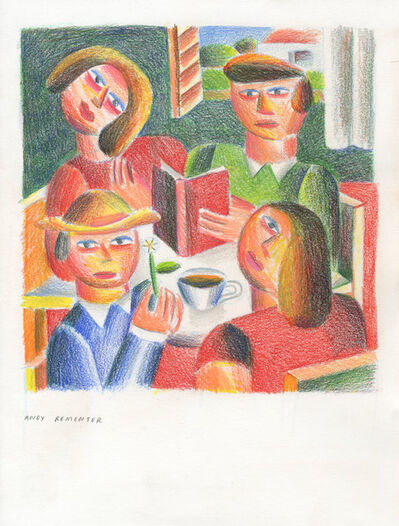 Andy Rementer, ' Book Club', 2020