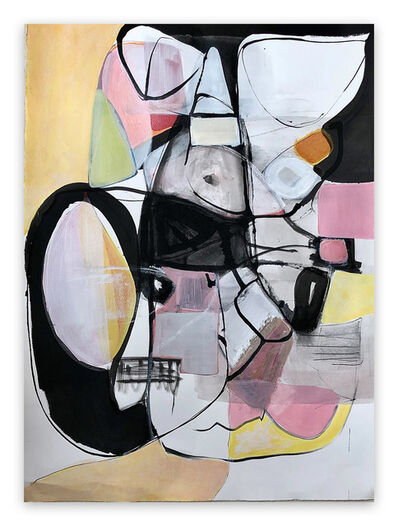 Irene Nelson, 'Untitled Quarantine #2 (Abstract painting)', 2020