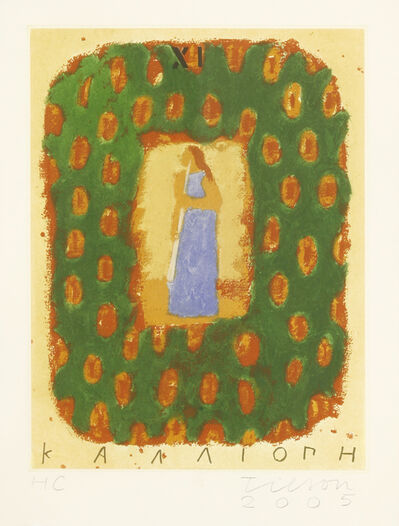 Joe Tilson, 'Le Nove Muse, Calliope', 2005