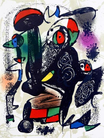 Joan Miró, 'Lithograph IV', 1982