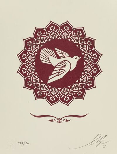 Shepard Fairey, 'Peace Dove Letterpress Print', 2013