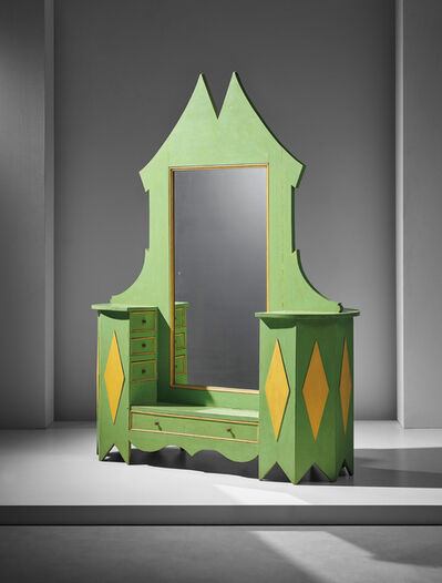Giacomo Balla, 'Unique vanity', ca. 1918