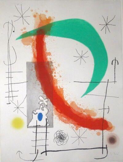 Joan Miró, 'Escalade', 1969