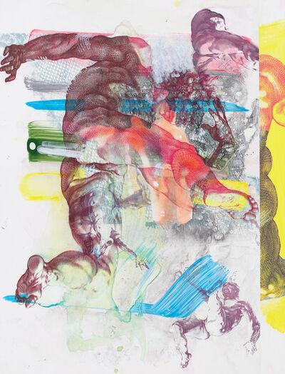Pia Fries, 'corpus transludi B5', 2017