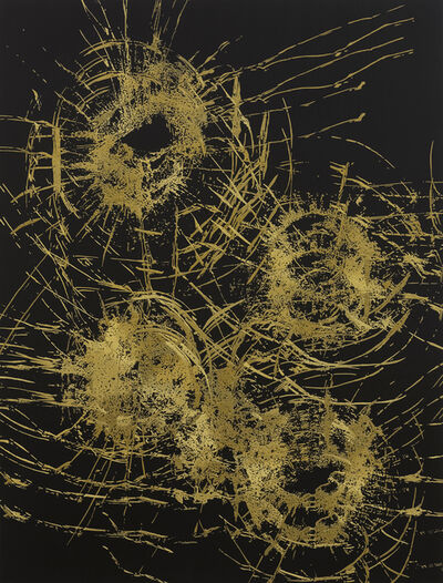 Zhao Zhao, 'Gold Constellation No.3金星空No.3', 2019