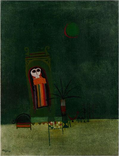 Dia Azzawi, 'Southern Bride', 1969