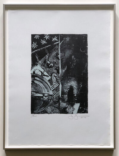 Jasper Johns, 'Summer (Blue) (ULAE 254)', 1985-1991