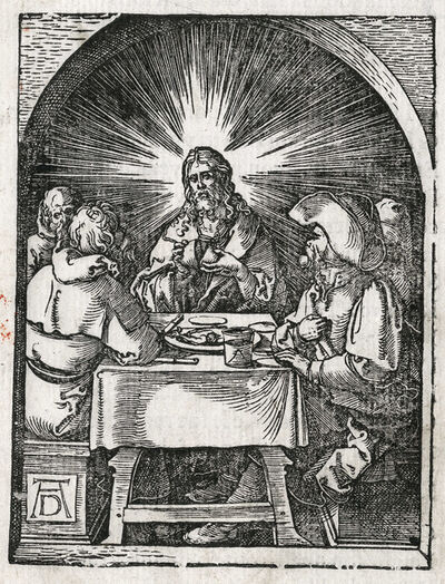 Albrecht Dürer, 'The Supper at Emmaus', 1612