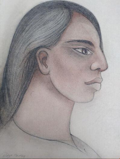 Diego Rivera, 'Joven Indigena', 20th Century