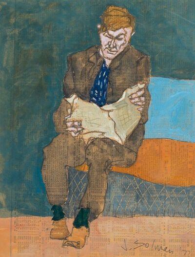 Joseph Solman, 'Subway', 1977