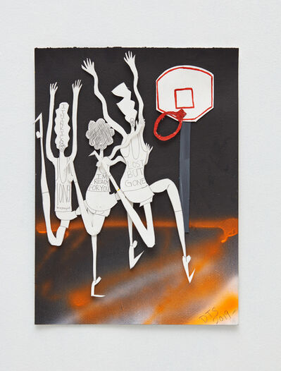 Devin Troy Strother, 'Ghost on the court', 2019