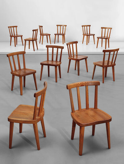 Axel Einar Hjorth, 'Set of twelve chairs, from the 'Utö' series', 1930s